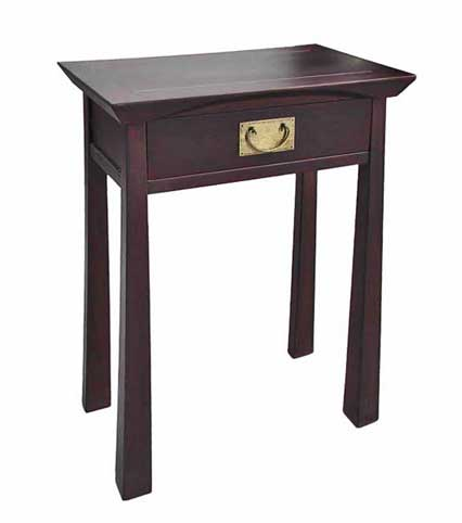 Etonnant Rosewood Small Serving Table.