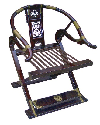 Folsing Ming Style Rosewood Chair