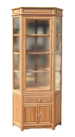 Ashwood corner cabinet