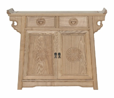 Longlife altar cabinet in ash wood.