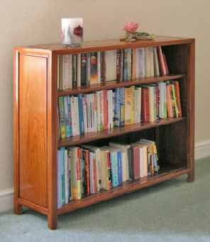 Rosewood Chinese bookshelves