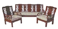 Chinese High back sofa - plain design