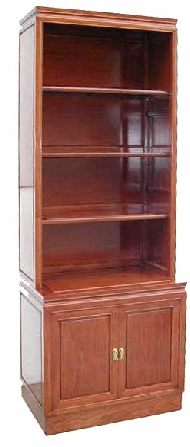 Chinese rosewood bookcase