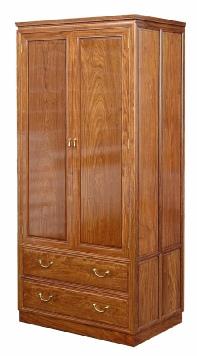 Rosewood Wardrobe in plain Design