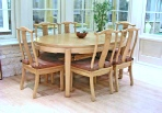 Chinese rosewood dining table with 6 chairs - LongLife design