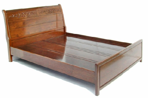 French Style bed made from solid rosewood in Queen Size
