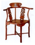 Chinese Rosewood chairs - a choice of carved or plain chairs at SALE prices
