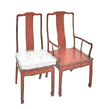 Chinese dining chairs-Mandarin style