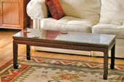 Chinese Ming style coffee table - Mandarin design