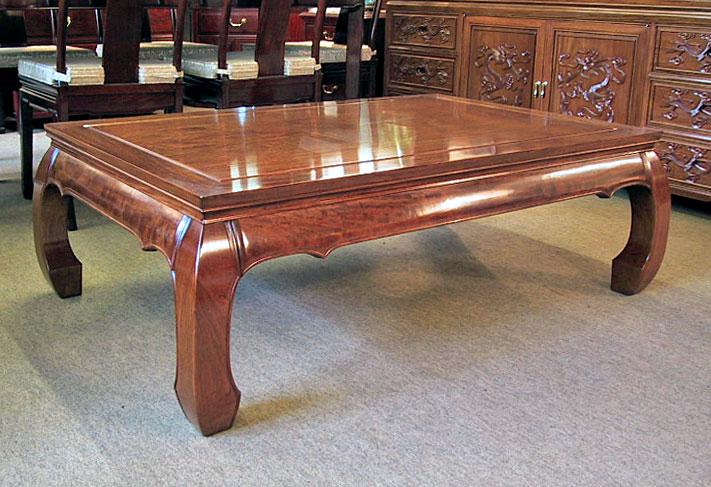 bespoke rosewood coffee table