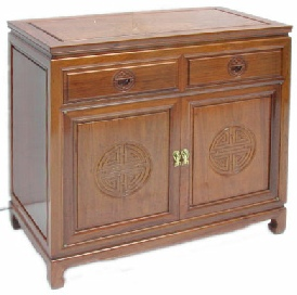 Long Life Design Sideboard with 2 drawers and 2 doors
