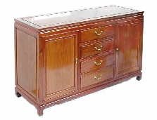 Mandarin Style Sideboard Plain Design