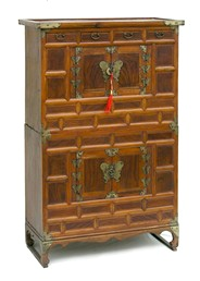 Antique Korean Chest on Chest