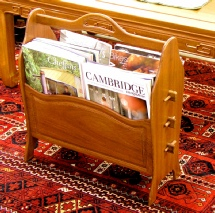 Rosewood Magazine Rack in a range of finishes