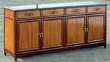 sideboard ming style - 2 colour with ru yi carving