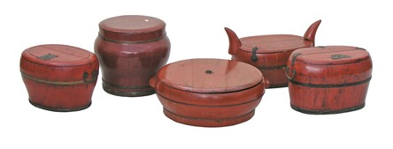 Rice and Grain Storage Chests