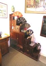 Tansu Oriental Step Cabinet