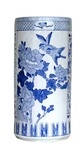 Blue and White Porcelain Umberella Stand