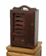 19th Century Portable Fir Workbox